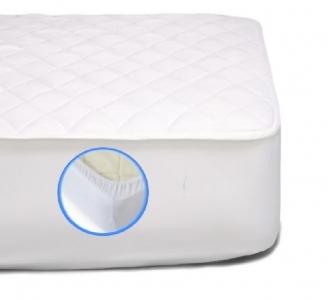 Наматрасник на резинке хлопковый ТМ MirSon Стандарт Cotton №261