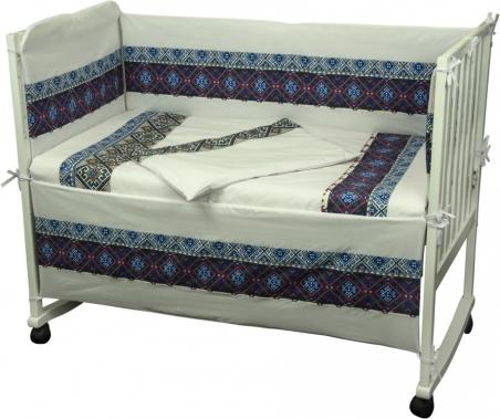 Детский постельный комплект ТМ Руно Славяночка голубой