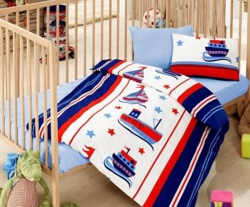 Детский постельный комплект ТМ Cotton Box ранфорс Denizci