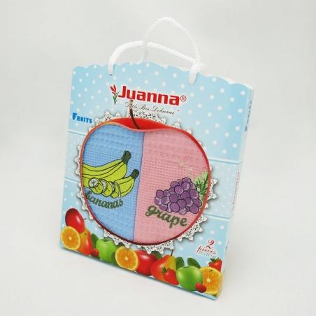 Набор полотенец кухонных ТМ Juanna Fruits 2шт 50х70см