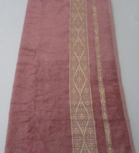 Полотенце ТМ Arya бамбук Kayra сухая роза 70х140