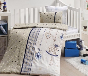 Детский постельный комплект ТМ First Сhoice Palmy Lacivert