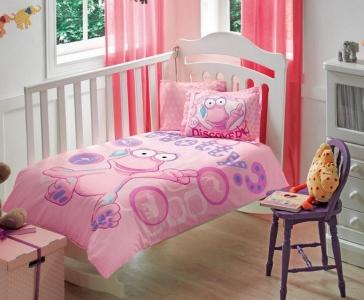 Детский постельный комплект ТМ TAС Wotwots Baby Girl Pembe