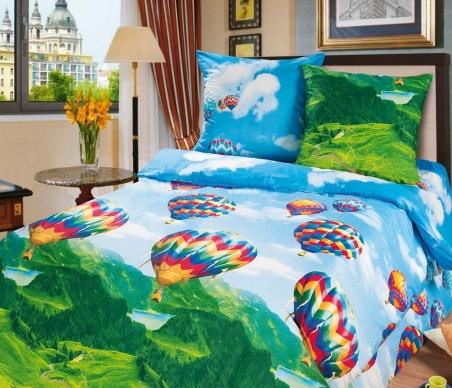 Подростковый постельный комплект ТМ ТOP Dreams Парад воздушных шаров