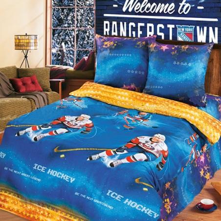 Подростковый постельный комплект ТМ ТOP Dreams Легенды хоккея