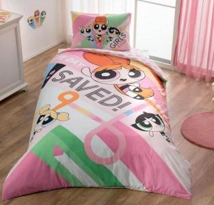 Подростковый постельный комплект ТМ TAС Power Puff Girls