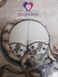 Набор полотенец ТМ Two Dolphins Romantic styles 2шт crema