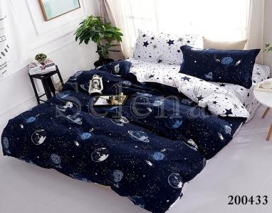 Постельное белье ТМ Selena ранфорс Галактика 200433