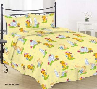 Детский постельный комплект ТМ Nostra бязь Gold 10-0400 Yellow