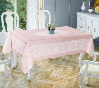 Скатерть ТМ Tropik home Priencly Pink 5698-7 150х220