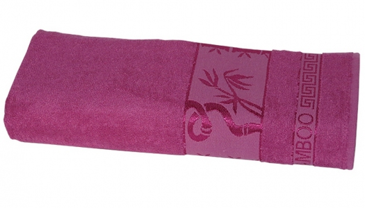 Полотенце ТМ Gursan Bamboo dark rose