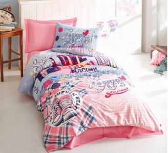 Подростковое постельное белье ТМ Cotton Box ранфорс Superstar Pembe