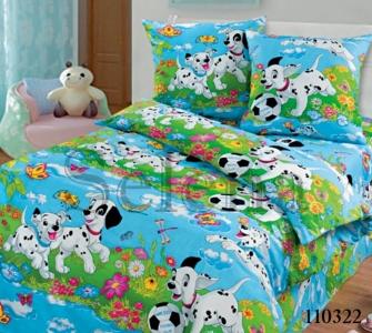 Подростковое постельное белье ТМ Selena бязь Далматинцы 110322