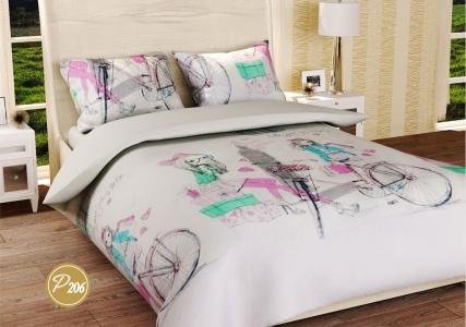 Подростковое постельное белье ТМ Лелека Текстиль ранфорс R206
