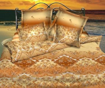Постельное белье ТМ Nostra бязь-люкс 3448+3449 полуторное