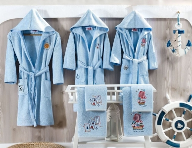 Халат детский ТМ TAC бамбук Maison для мальчиков