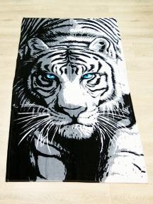 Полотенце велюровое пляжное Турция Tiger 75х150 см