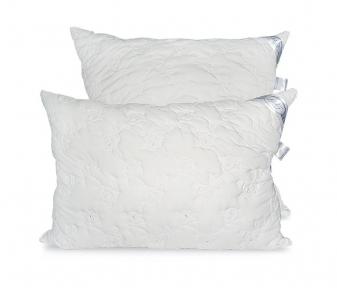 Подушка ТМ Leleka-Textile Эконом стеганный чехол белая