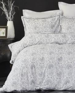 Постельное белье ТМ Karaca Home ранфорс Tierra Siyah евро-размер