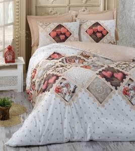 Постельное белье ТМ Cotton Box ранфорс Betsey Bej евро-размер