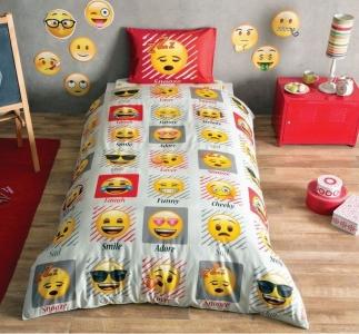 Подростковый постельный комплект ТМ TAС Emoji