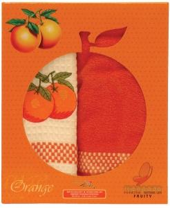Набор полотенец 2шт ТМ Mariposa Апельсин 016