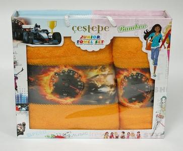 Набор полотенец из 2 штук ТМ Cestepe Bamboo Junior 05