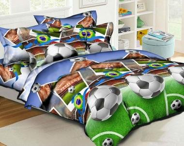 Подростковое постельное белье ТМ HomyTex Футбол 1