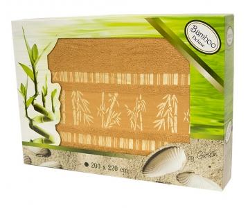Простынь бамбуковая ТМ Gursan terracotta 200х220