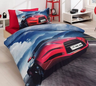 Подростковый постельный комплект ТМ First Choice сатин Angle
