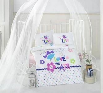 Детский постельный комплект ТМ Clasy Happy Bird