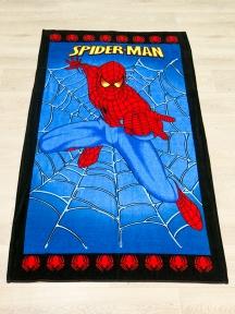 Полотенце велюровое пляжное Турция Spiderman 75х150 см