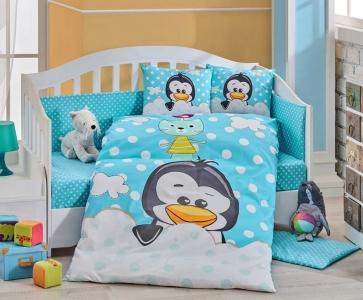 Детский постельный комплект ТМ Hobby Penguin