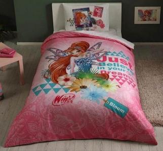 Подростковый постельный комплект ТМ TAС Winx Bloom Fairytale