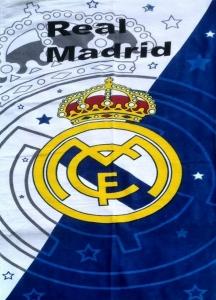 Полотенце велюровое пляжное Турция FC Real Madrid 75х150
