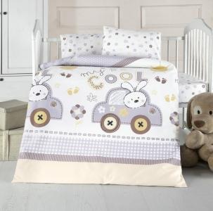 Детский постельный комплект ТМ Arya Coll Baby голубой