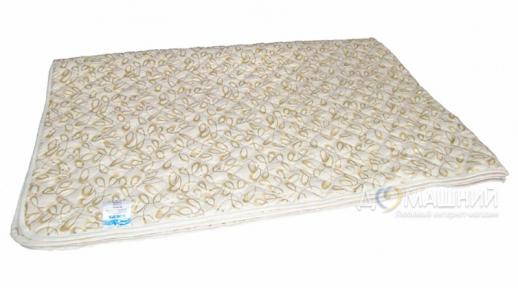 Одеяло-покрывало ТМ Leleka-Textile Вензеля бежевые