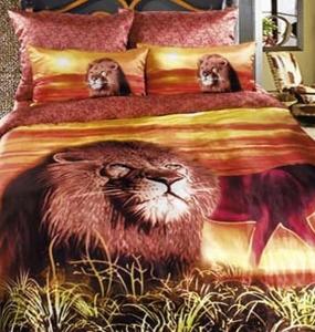 Постельное бельё ТМ Love You Царь зверей семейный размер