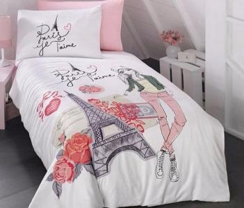 Подростковый постельный комплект ТМ First Choice ранфорс Amour