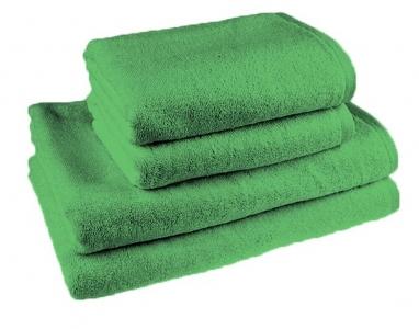 Простынь махровая ТМ Novita гладкокрашенная green