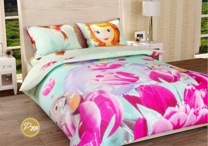 Подростковое постельное белье ТМ Лелека Текстиль ранфорс R209