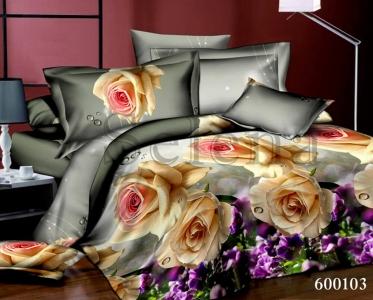 Постельное белье ТМ Selena Лилея поликоттон Розы 600103