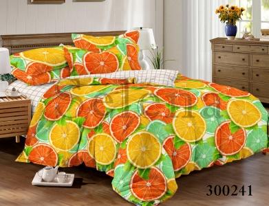 Подростковое постельное белье ТМ Selena сатин Тропикано 300241