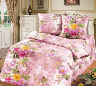 Постельное бельё ТМ ТOP Dreams Весенний прованс розовый
