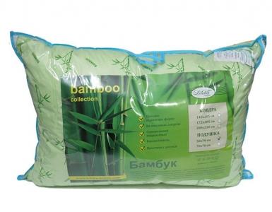 Подушка ТМ Leleka-Textile Бамбук зеленая