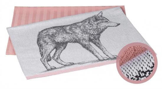 Набор полотенец кухонных 2 шт ТМ Hobby Wolf 50х70
