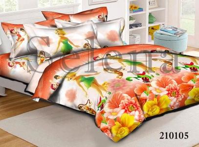 Подростковое постельное белье ТМ Selena ранфорс Феи 2