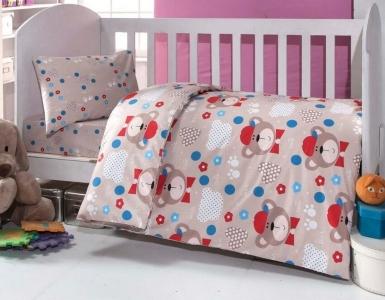 Детский постельный комплект ТМ TAС Brielle 457 Brown
