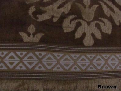 Полотенце махровое в тубе ТМ Arya Ozdilek Orient коричневое 50X100
