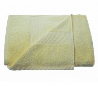 Полотенце махровое ТМ Arya Miranda желтое
